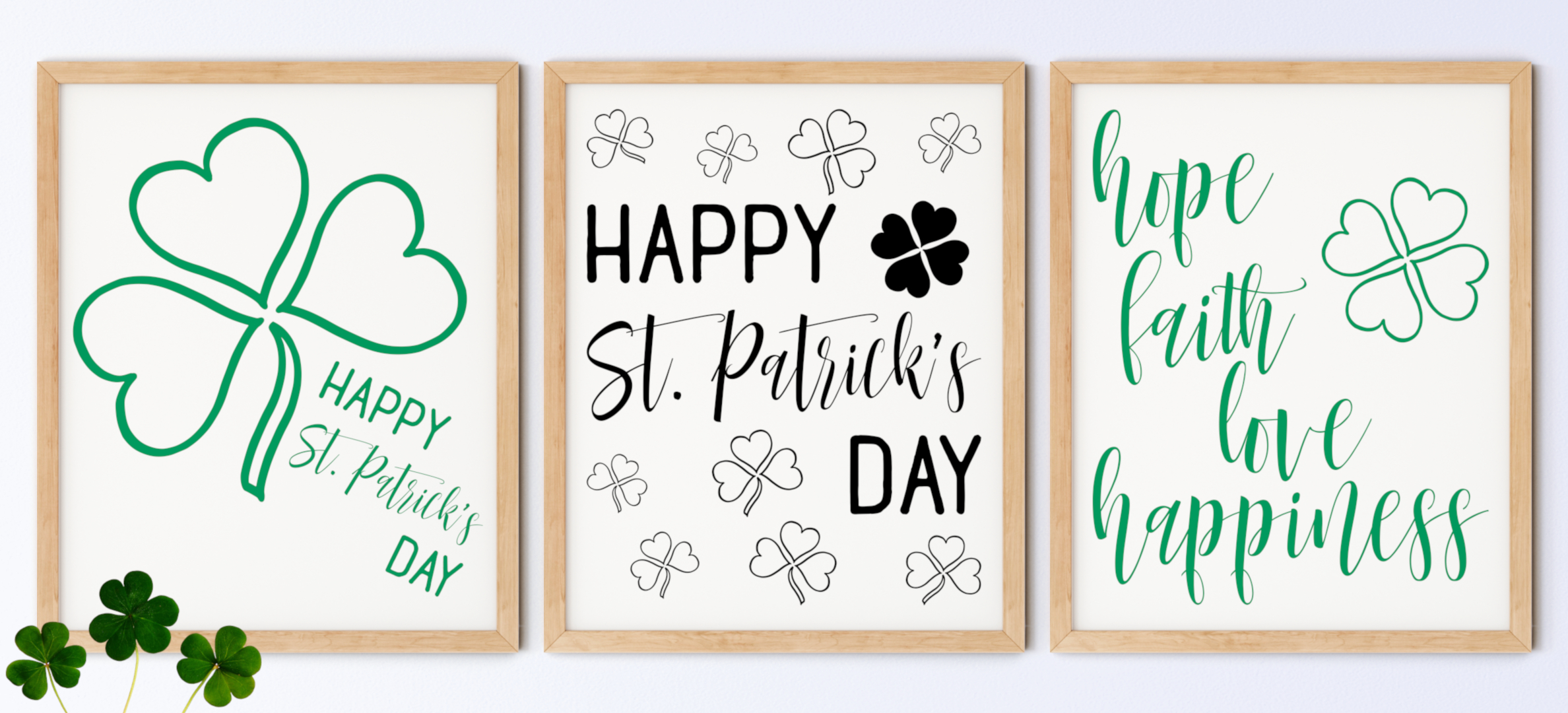 Printable St. Patrick's Day Wall Art